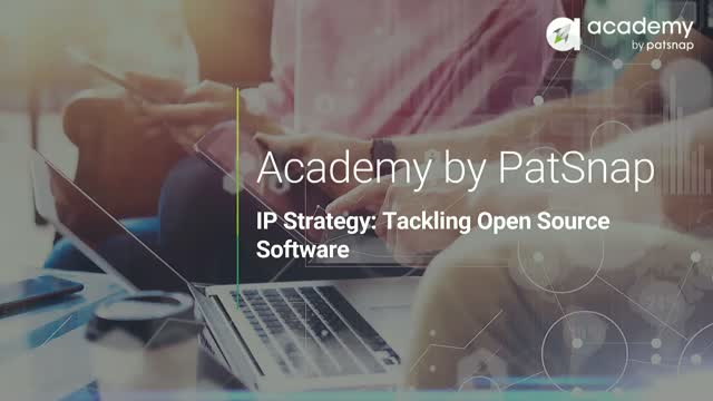 IP Strategy: Tackling Open Source Software