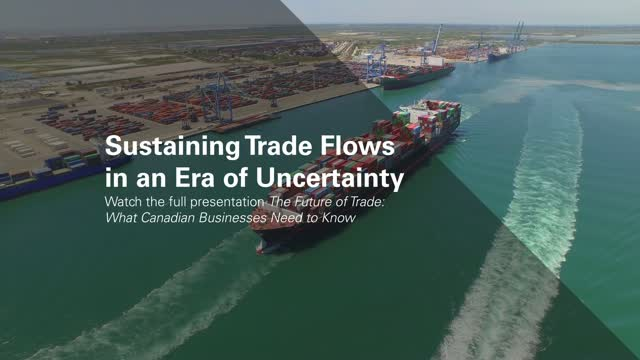 Sustaining Trade Flows in an Era of Uncertainty