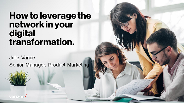 How to leverage the network in your digital transformation.