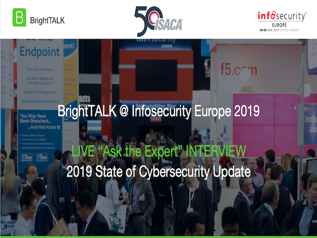 Ask the IT Governance Experts: 2019 State of Cybersecurity Update