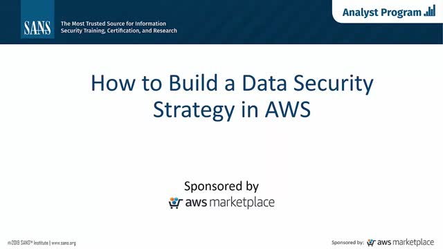 How to Build a Data Protection Strategy in AWS