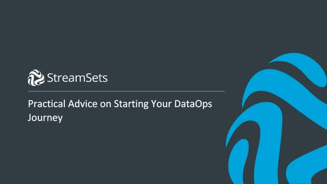 DataOps: Practical Advice for Your Journey
