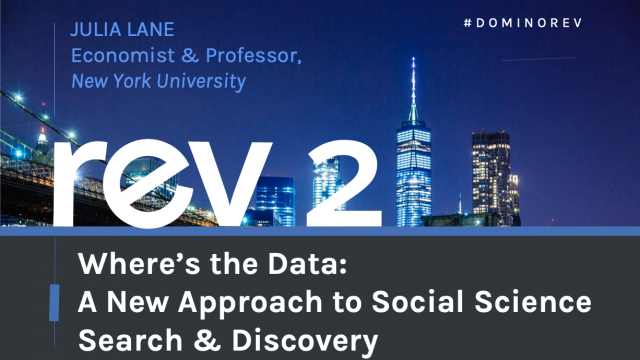 Where's the Data: A New Approach to Social Science Search & Discovery