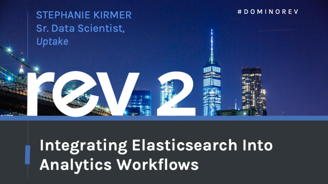 Integrating Elasticsearch Into Analytics Workflows