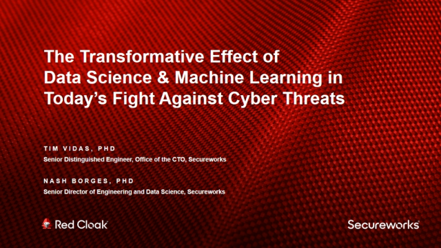 The Transformative Effect of Data Science and Machine Learning