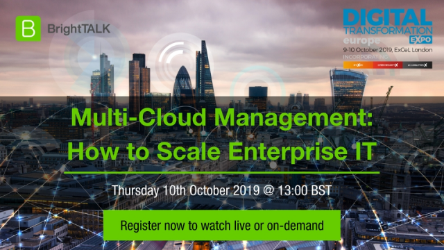 Multi-Cloud Management: How to Scale Enterprise IT