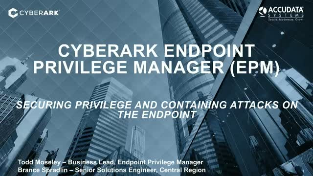 Securing Privilege and Containing Attacks on Endpoints