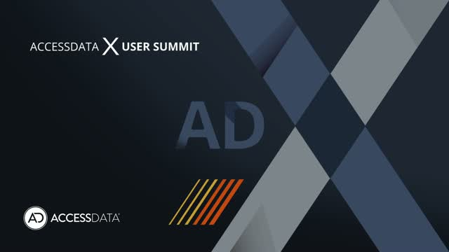 AccessData User Summit Highlight Reel