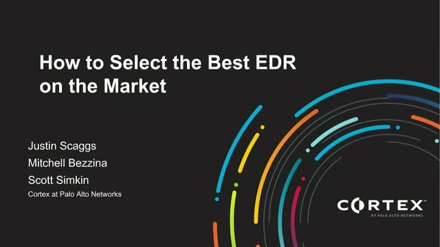 How to Select the Best EDR in the market