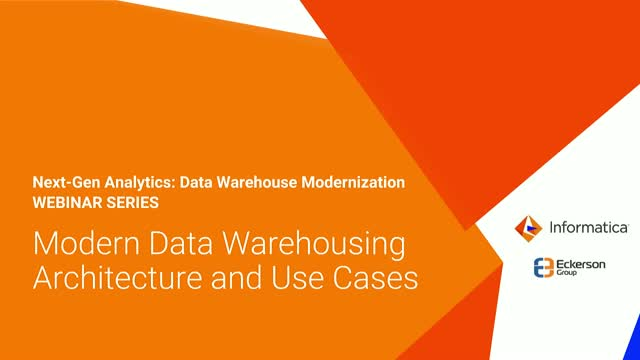 9 Modern Data Warehousing Architecture Patterns and Use Cases