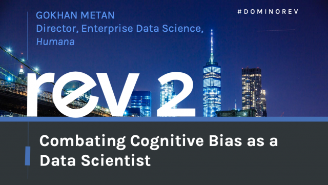 Combating Cognitive Bias as a Data Scientist