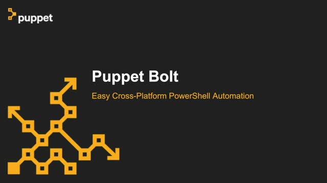Easy Cross-Platform PowerShell Automation with Bolt