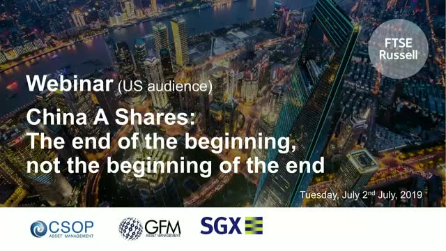 China A Shares: the end of the beginning, not the beginning of the end (US)