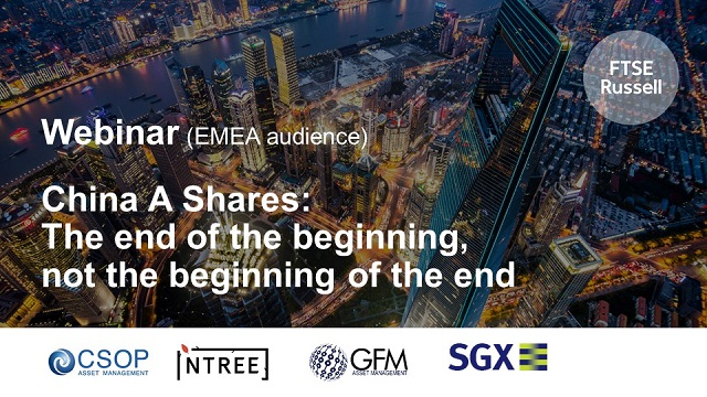 China A Shares: the end of the beginning, not the beginning of the end (EMEA)