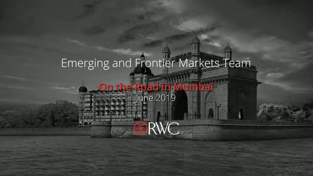 RWC Emerging & Frontier Markets On the Road, Mumbai June 2019