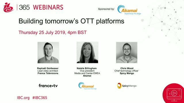 Building tomorrow's OTT platforms