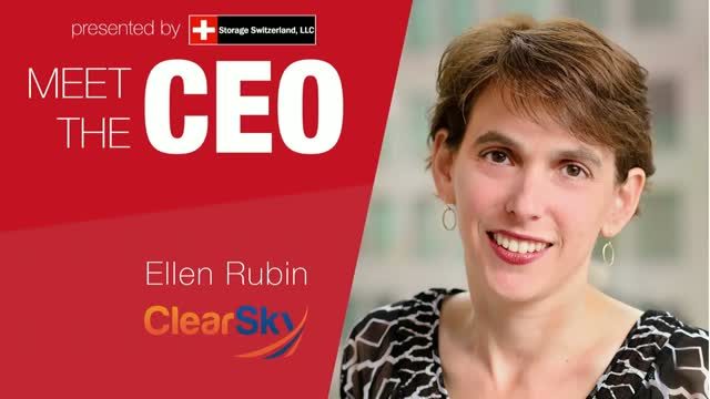 Meet The CEO: ClearSky Data's Ellen Rubin