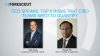 CEO Speaks: Top 5 Risks That CISO's Need to Quantify