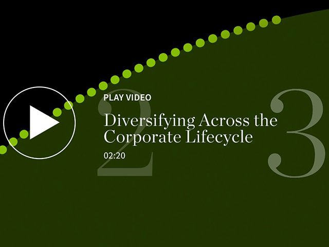Diversifying Across the Corporate Lifecycle