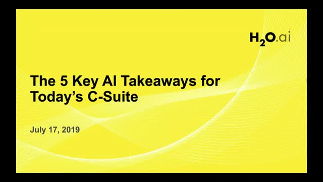The 5 Key AI Takeaways for Today's C-Suite