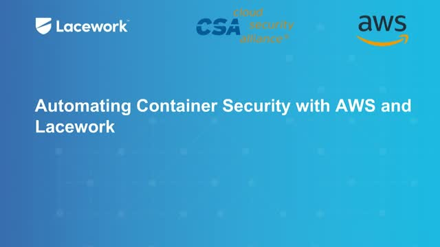 Automating Container Security