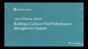 Building a Culture First Performance Management System