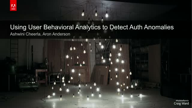 Using User Behavior Analytics to Detect Authentication Anomalies