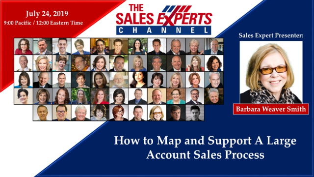 How to Map and Support A Large Account Sales Process
