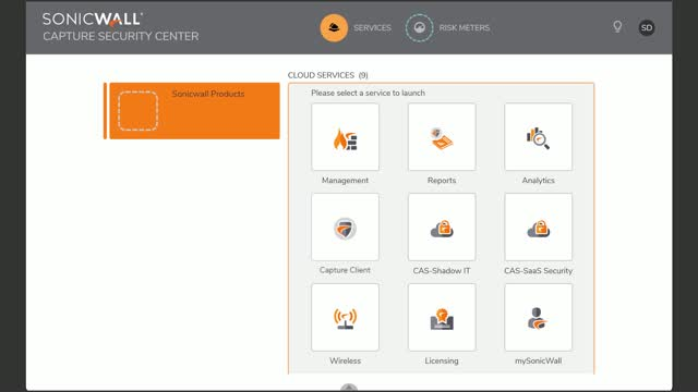 Manage your Entire Security Ecosystem with SonicWall Capture Security Center
