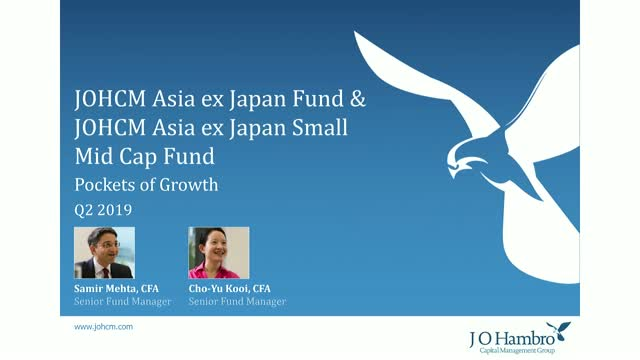 JOHCM Asia ex Japan Fund & JOHCM Asia ex Japan Small/Mid Cap Fund Q2 19 Update