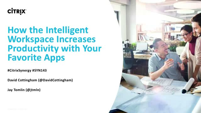 How the intelligent Workspace increases productivity with your favorite apps