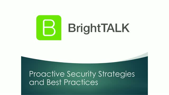 [PANEL] Proactive Security Strategies and Best Practices