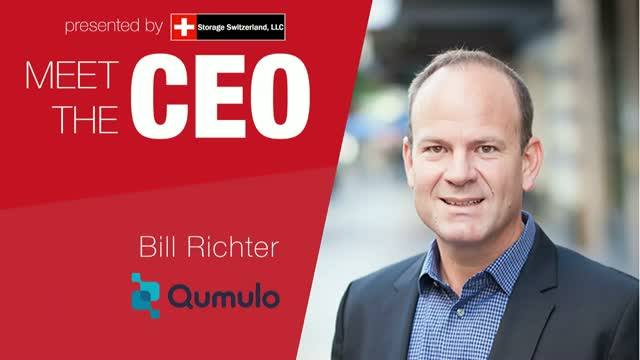 Meet The CEO: Qumulo's Bill Richter