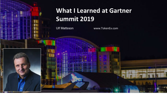 What I Learned at Gartner Summit 2019