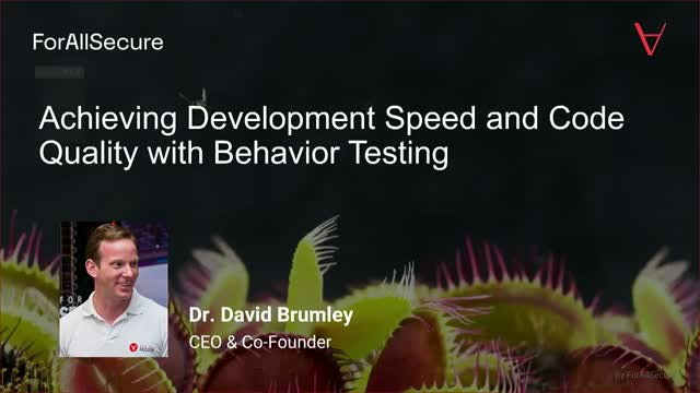 Achieve Development Speed and Code Quality with Behavior Testing