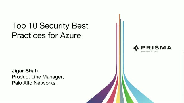 Top 10 Security Best Practices for Azure