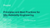 Principles and Best Practices for Site Reliability Engineering (EMEA)