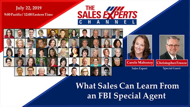 What Sales Can Learn From an FBI Special Agent