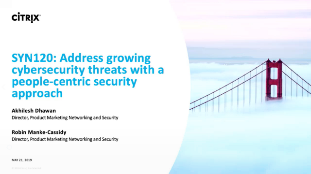 Address growing cybersecurity threats with a people-centric security approach