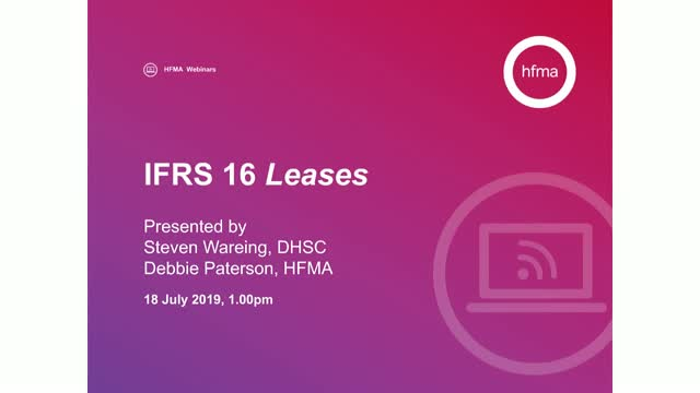 IFRS 16 Leases – practical application
