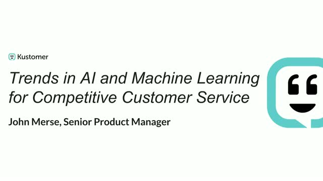 Trends in AI and Machine Learning for Competitive Customer Service