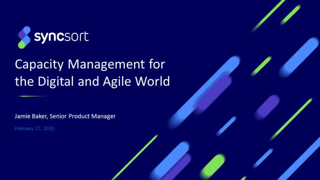 Capacity Management in a Digital and Agile World