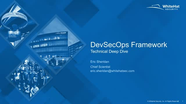 Deep-Dive into the DevSecOps Framework