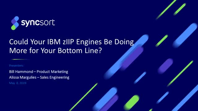 Could your IBM zIIP Engines be doing more for your Bottom Line?