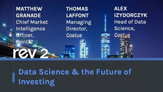 Panel Discussion: Data Science & the Future of Investing