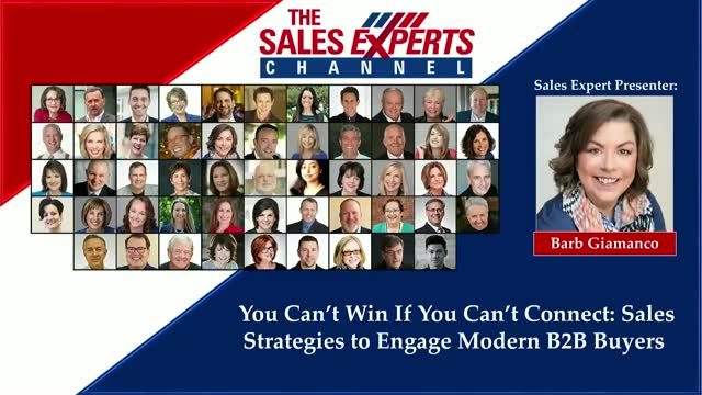 You Can't Win If You Can't Connect: Sales Strategies to Engage Modern B2B Buyers