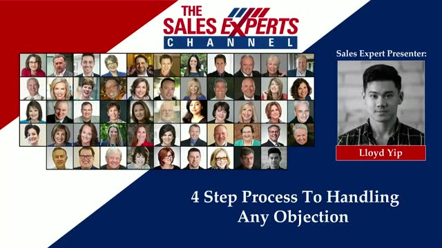 4 Step Process To Handling Any Objection