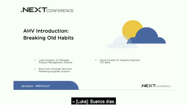 AHV Introduction - Breaking Old Habits