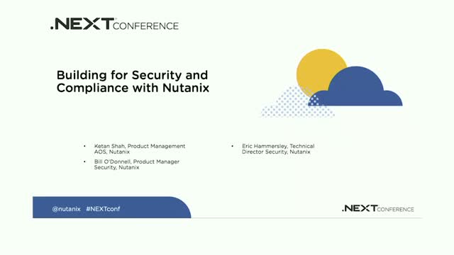 How to Build Cloud Environments for Security and Regulatory Compliance