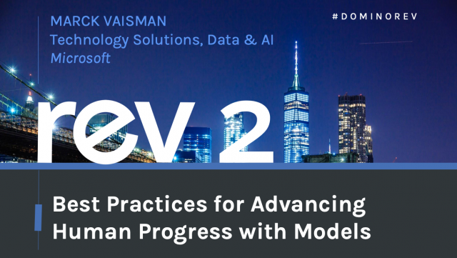 Best Practices for Advancing Human Progress with Models
